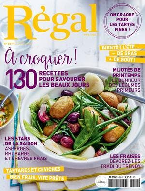 Couverture magazine Régal 89