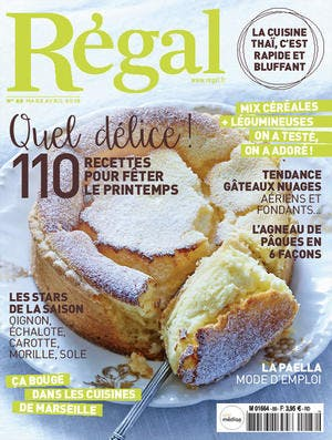 couverture du magazine Régal n° 88