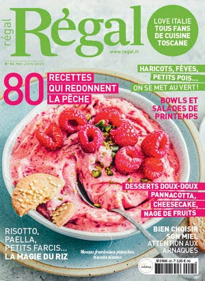 Couverture magazine Régal n° 95