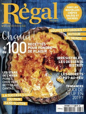 Couverture magazine Régal n° 87
