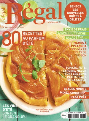 Régal n° 96 couverture magazine