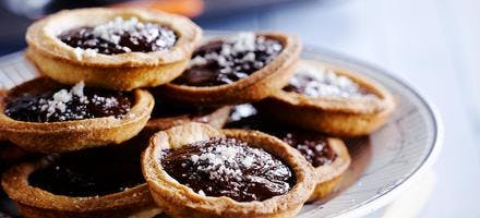 Tartelettes caramel-chocolat