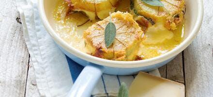 Paupiettes de pommes de terre au Raclette du Valais AOP