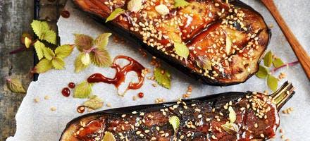 Aubergine à la japonaise : recette au miso