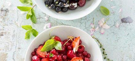 Recette de salade de fruits
