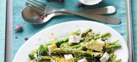 Curry de légumes et tofu