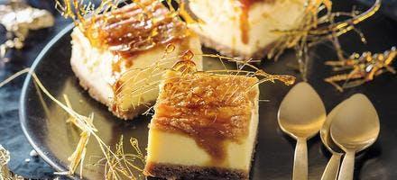 Cheesecake speculoos et caramel