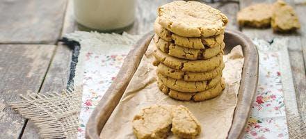 Cookies au sucre complet