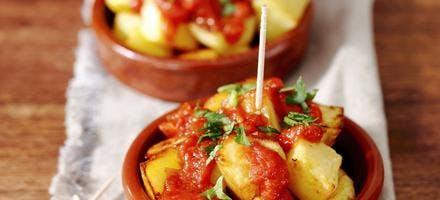 Patatas bravas au Tabasco