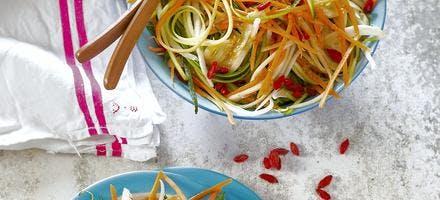 Spaghettis de légumes
