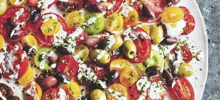 Salade tomates-olives