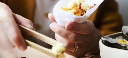 Pop corn salé et épicé