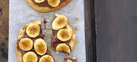 Pizza nutella-bananes