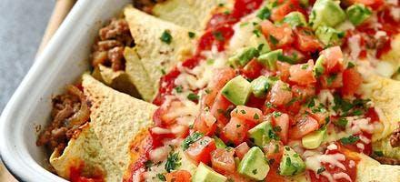 Enchiladas au boeuf