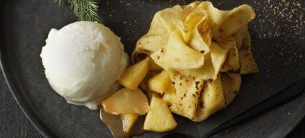 Aumônière pomme-poire