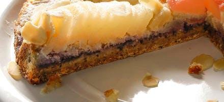 La tarte Bourdaloue à la farine de blé, céréales et graines