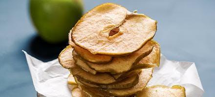 Chips de pomme au four