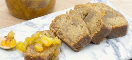 Confiture ananas, dattes et épices à pain d'épices