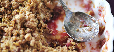 Crumble de prunes