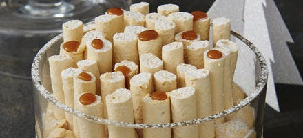 Forêt de meringues 100% Caramel