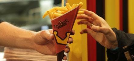 Véritables frites belges