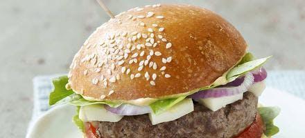 Hamburger au reblochon