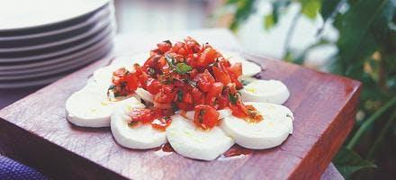 caviar de tomate à la toscane