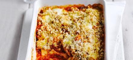 gratin de poulet à l'italienne