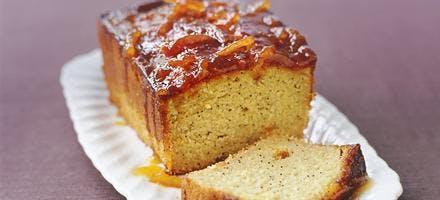 cake à l'orange amère et au pavot