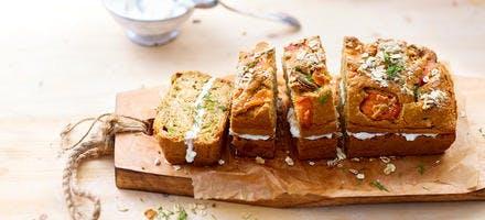 Cake nordique au saumon