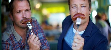 Jamie Oliver combats de chefs