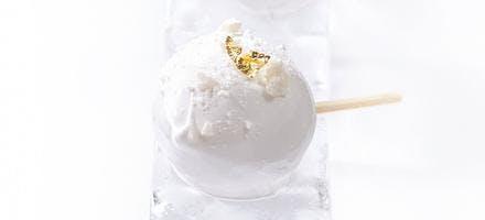 Sucettes glacées au marasquin