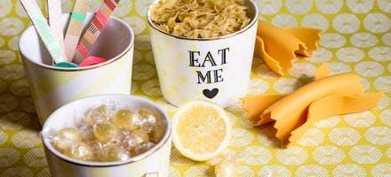 Pasta box : pâtes au citron