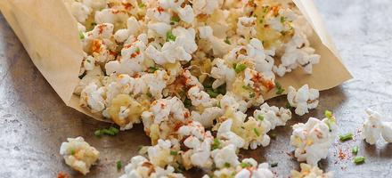 Pop corn au fromage