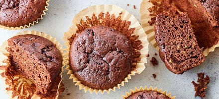 Muffins choco courgettes