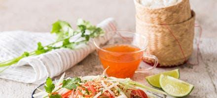 Salade de papaye verte « som tam »