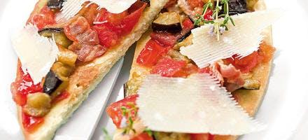 Pizza à la bohémienne de mamée Marcelle