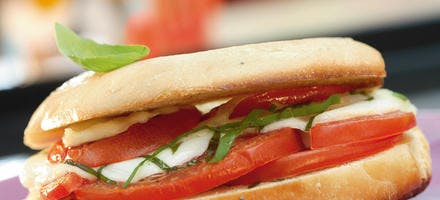 Bagel tomate-mozza