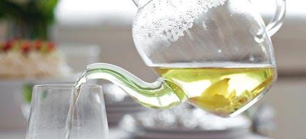 Thé vert au gingembre