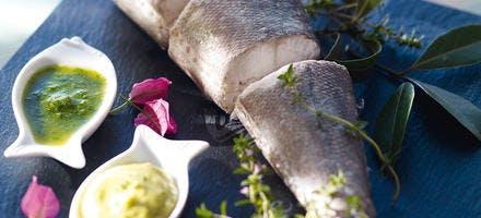 Le merlu et ses sauces
