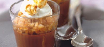 Crémeux chocolat et granité café