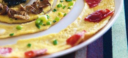Omelette surprise