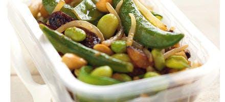 salade à l'indienne légumes croquants