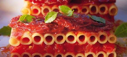 Candele en strates de tomates