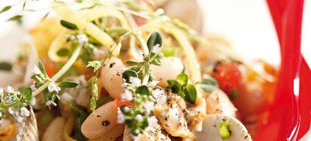 Salade de coques et cocos