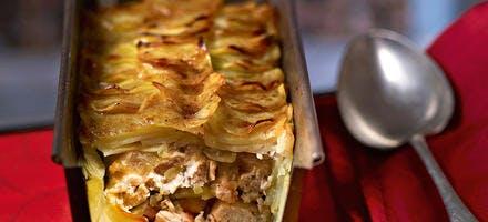 Chicken pie aux pommes de terre
