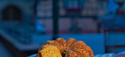 Gâteau noisettes, amandes et carotte
