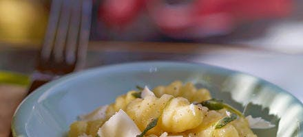 Beurre de sauge & Crème de parmesan