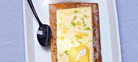 Tarte à la crème d'ananas