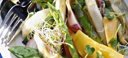 Cocotte de légumes printaniers sautés